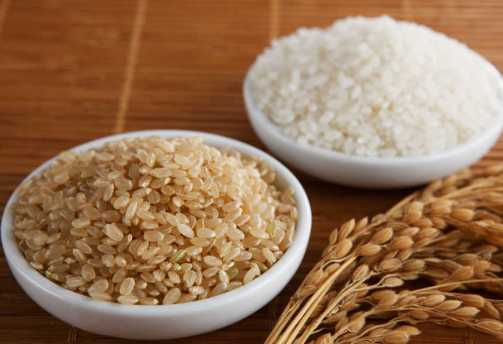 brown-and-white-rice